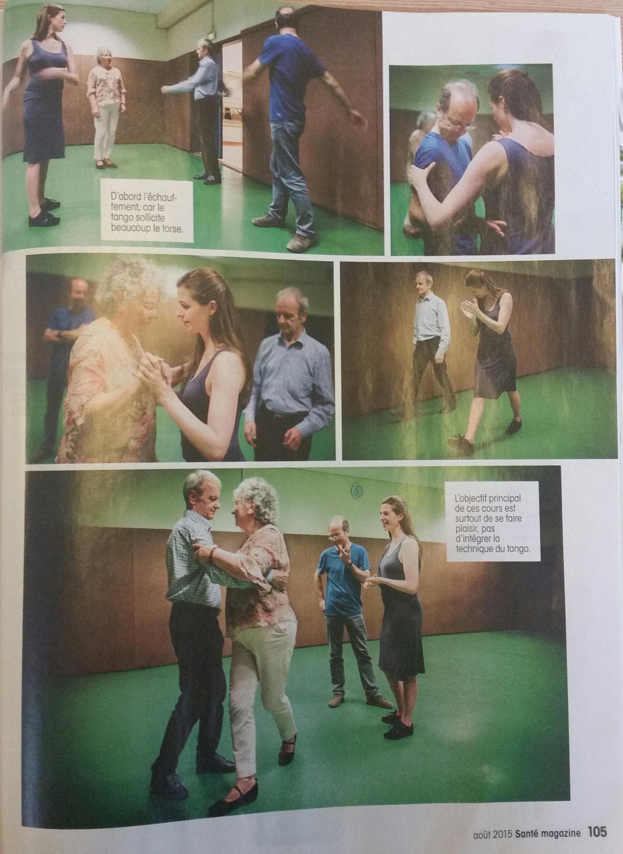 Tango et Parkinson